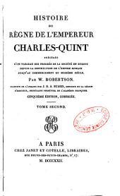 Histoire du règne de l'empereur Charles-Quint
