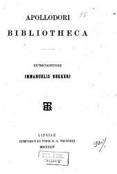 Apollodori Bibliotheca,