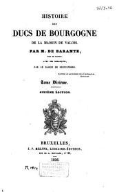Histoire des Ducs de Bourgogne de la maison de Valois: Marie de Bourgogne