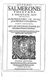 Alfonsi Salmeronis Toletani ... commentarii in Evangelicam historiam, et in Acta Apostolorum: Τόμοι 11-12