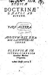 Ethica doctrina: libri novem, Volume 2