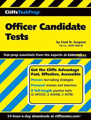 CliffsTestPrep Officer Candidate Tests PDF
