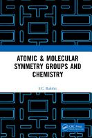 Atomic   Molecular Symmetry Groups and Chemistry PDF