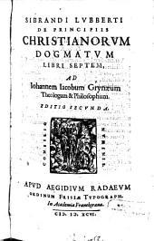 De principiis christianorum dogmatum libri VII