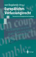 Europ  isches Verfassungsrecht PDF