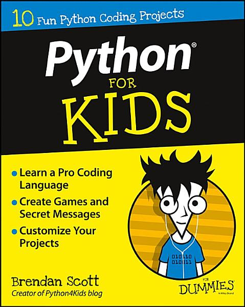 Download Python For Kids For Dummies Book