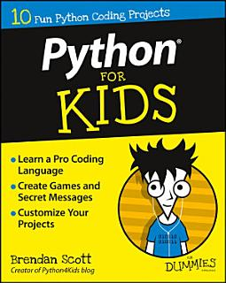 Python For Kids For Dummies Book