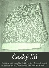 Český lid: Svazek 14