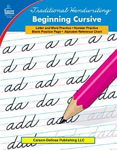 Traditional Handwriting  Beginning Cursive  Grades 1   3 Book
