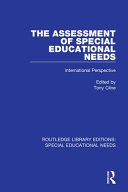 The Assessment of Special Educational Needs PDF