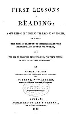 First Lessons in Reading PDF