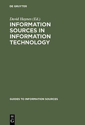 Information Sources in Information Technology PDF