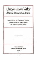 Uncommon Valor  Marine Divisions in Action PDF