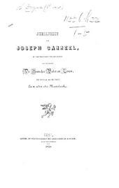 Jubelfeest van J. Canneel nu vijftig jaren ter Drukkerij van de Heeren De Busscher, Vader en Zonen, te Brugge en te Gent en er sedert 1811 Meesterknecht