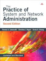 The Practice of System and Network Administration PDF