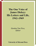 The One Voice of James Dickey
