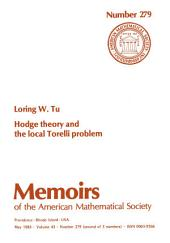 Hodge Theory and the Local Torelli Problem: Issue 279