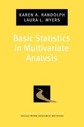 Basic Statistics in Multivariate Analysis