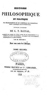 Histoire philosophique et politique des établissemens et du commerce des Européens dans l'Afrique septentrionale: Volume2