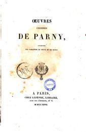 Œuvres choisies de Parny, augmentées des variantes de texte et de notes