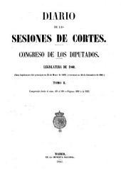 Diario de las sesiones de Cortes: Volume 2