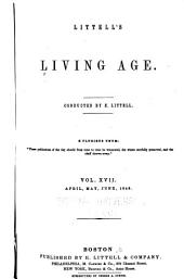 Littell's Living Age: Volume 17