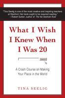 What I Wish I Knew When I Was 20 PDF