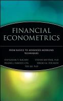 Financial Econometrics PDF