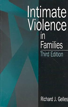 Intimate Violence in Families PDF