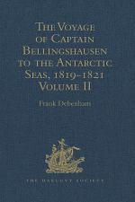 The Voyage of Captain Bellingshausen to the Antarctic Seas, 1819-1821