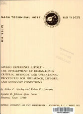 The Development of Design loads Criteria  Methods  and Operational Procedures for Prelaunch  Lift off  and Midboost Conditions PDF