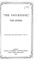 The touchstone   a Roman catholic tract  with answers PDF