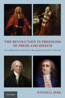 The Revolution in Freedoms of Press and Speech PDF