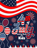 4th Of July Coloring Book For Kids Book PDF