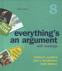 Everything s an Argument with Readings  Cloth Text  PDF