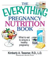 The Everything Pregnancy Nutrition Book PDF