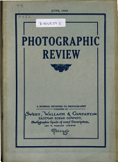 Photographic Review: A Journal Devoted to Photography, Volume 24, Issue 6