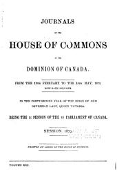 Journals of the House of Commons of Canada: Volume 13