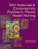 DSM 5 Transition Guide for Contemporary Psychiatric Mental Health Nursing PDF