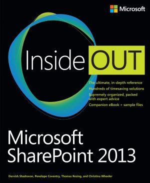Microsoft SharePoint 2013 Inside Out PDF