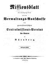 Missionsblatt: 1848