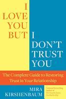 I Love You But I Don t Trust You PDF