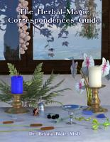 The Herbal Magic Correspondences Guide PDF