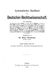 Deutsches Konkursprozessrecht