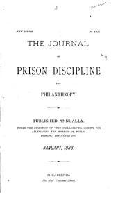 The Journal of Prison Discipline and Philanthropy: Volume 22