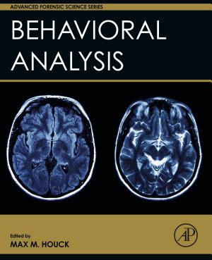 Behavioral Analysis PDF