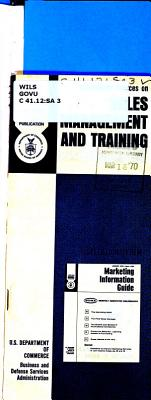 Information Sources on Sales Management and Training