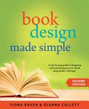 Book Design Made Simple Book