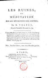 Les ruines, ou, Méditation sur les révolutions des empires