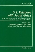U S Relations With South Africa An Annotated Bibliography Book PDF